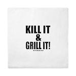 Kill It & Grill It Queen Duvet