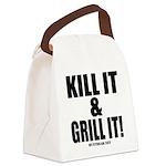 Kill It & Grill It Canvas Lunch Bag
