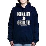Kill It & Grill It Women's Hooded Sweatshirt
