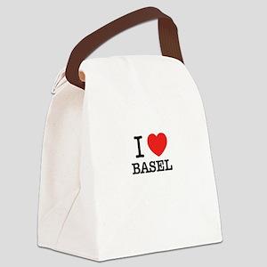 I Love BASEL Canvas Lunch Bag
