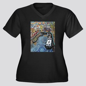 Amsterdam and Rijksmuseum Plus Size T-Shirt
