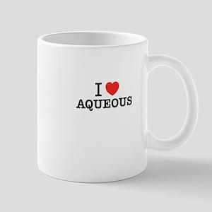 I Love AQUEOUS Mugs
