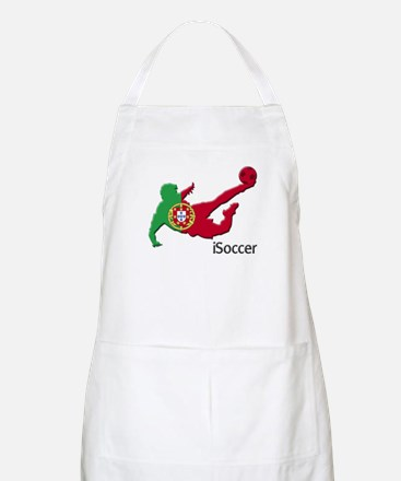 iSoccer Portugal BBQ Apron