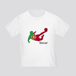 iSoccer Portugal Toddler T-Shirt