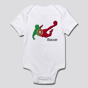 iSoccer Portugal Infant Bodysuit