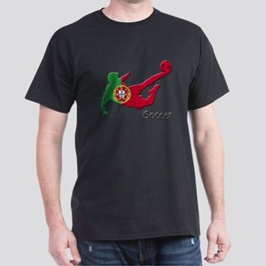 iSoccer Portugal Dark T-Shirt