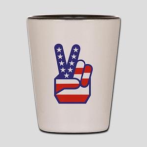 Spirit of '76 Peace Shot Glass