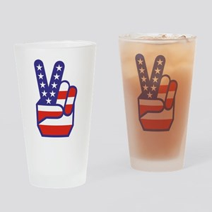 Spirit of '76 Peace Drinking Glass