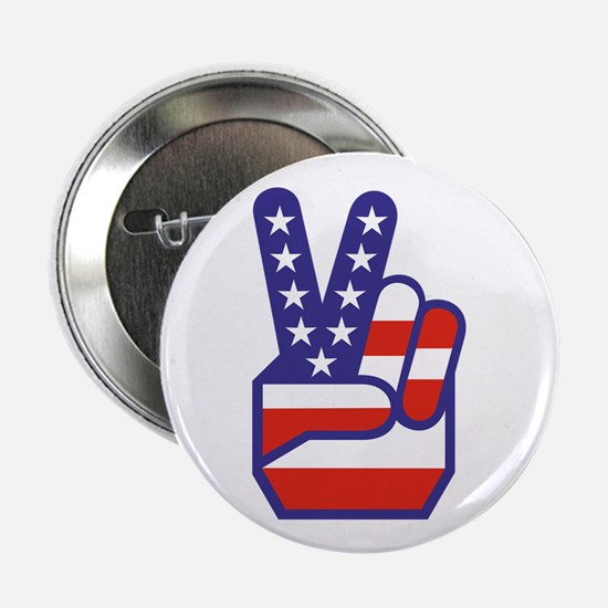 "Spirit of '76 Peace 2.25"" Button (10 pack)"