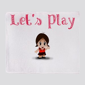 Let's Play Throw Blanket