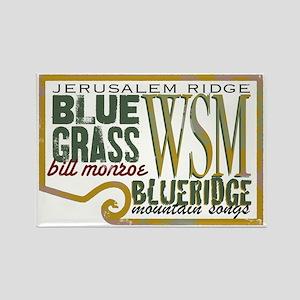 Rectangle bluegrass Magnet (10 pack)