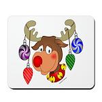 Christmas Reindeer Mousepad