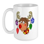 Christmas Reindeer Large Mug