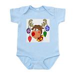 Christmas Reindeer Infant Bodysuit