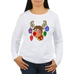 Christmas Reindeer Women's Long Sleeve T-Shirt