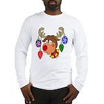 Christmas Reindeer Long Sleeve T-Shirt