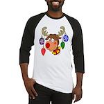 Christmas Reindeer Baseball Jersey
