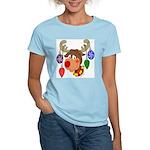 Christmas Reindeer Women's Light T-Shirt