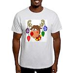 Christmas Reindeer Light T-Shirt