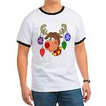 Christmas Reindeer Ringer T