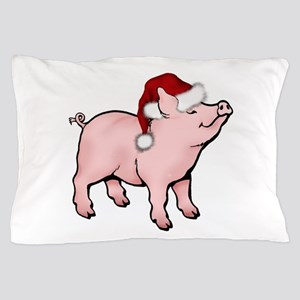 Santa Piglet Pillow Case