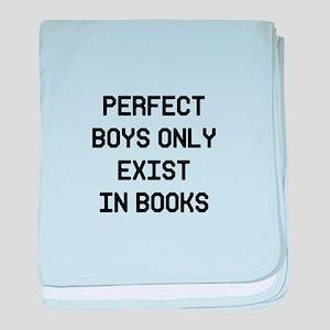 Perfect Boys baby blanket