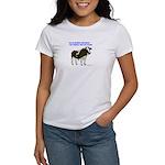 Meat Eating Vegitarian Women's T-Shirt