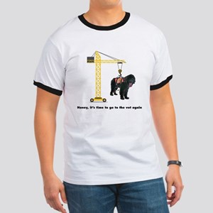 Newfie goes to the Vet T-Shirt