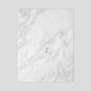White Marble Twin Duvet