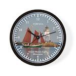 Hjord & Grand Marais Light Wall Clock