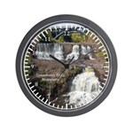 Middle & Lower Gooseberry Falls Wall Clock
