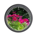 Cosmo Flowers Wall Clock