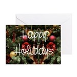 Happy Holidays (blank) Greeting Card