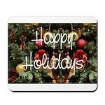 Happy Holidays Mousepad