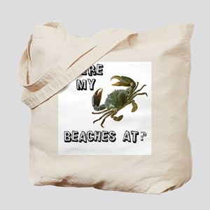 Where my beaches at? Tote Bag