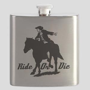Paul Revere Ride Or Die Flask