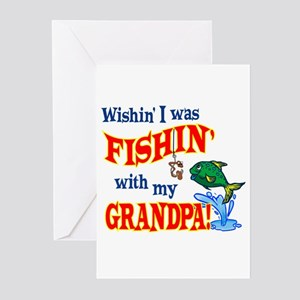 Fishing With Grandpa Greeting Cards (Pk of 10)