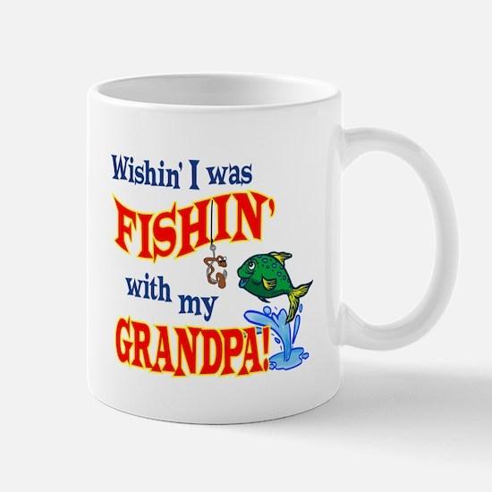 Fishing With Grandpa Mug