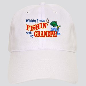 Fishing With Grandpa Cap