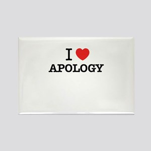 I Love APOLOGY Magnets