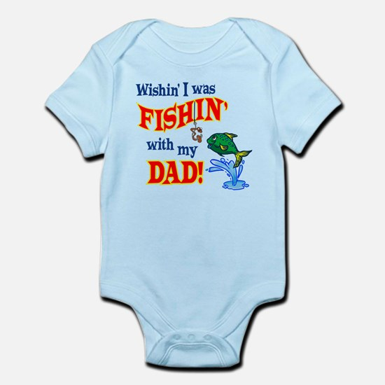 Fishing With Dad Infant Bodysuit