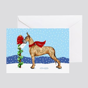 Great Dane Brindle Mail Greeting Cards (Pk of 20)