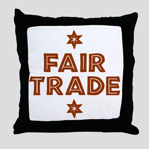 Activism - Fair Trade Throw Pillow