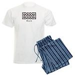 Knot - Black Men's Light Pajamas