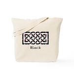 Knot - Black Tote Bag
