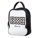 Knot - Black Neoprene Lunch Bag