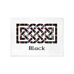 Knot - Black 5'x7'Area Rug