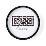 Knot - Black Wall Clock