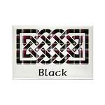 Knot - Black Rectangle Magnet