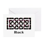 Knot - Black Greeting Cards (Pk of 10)